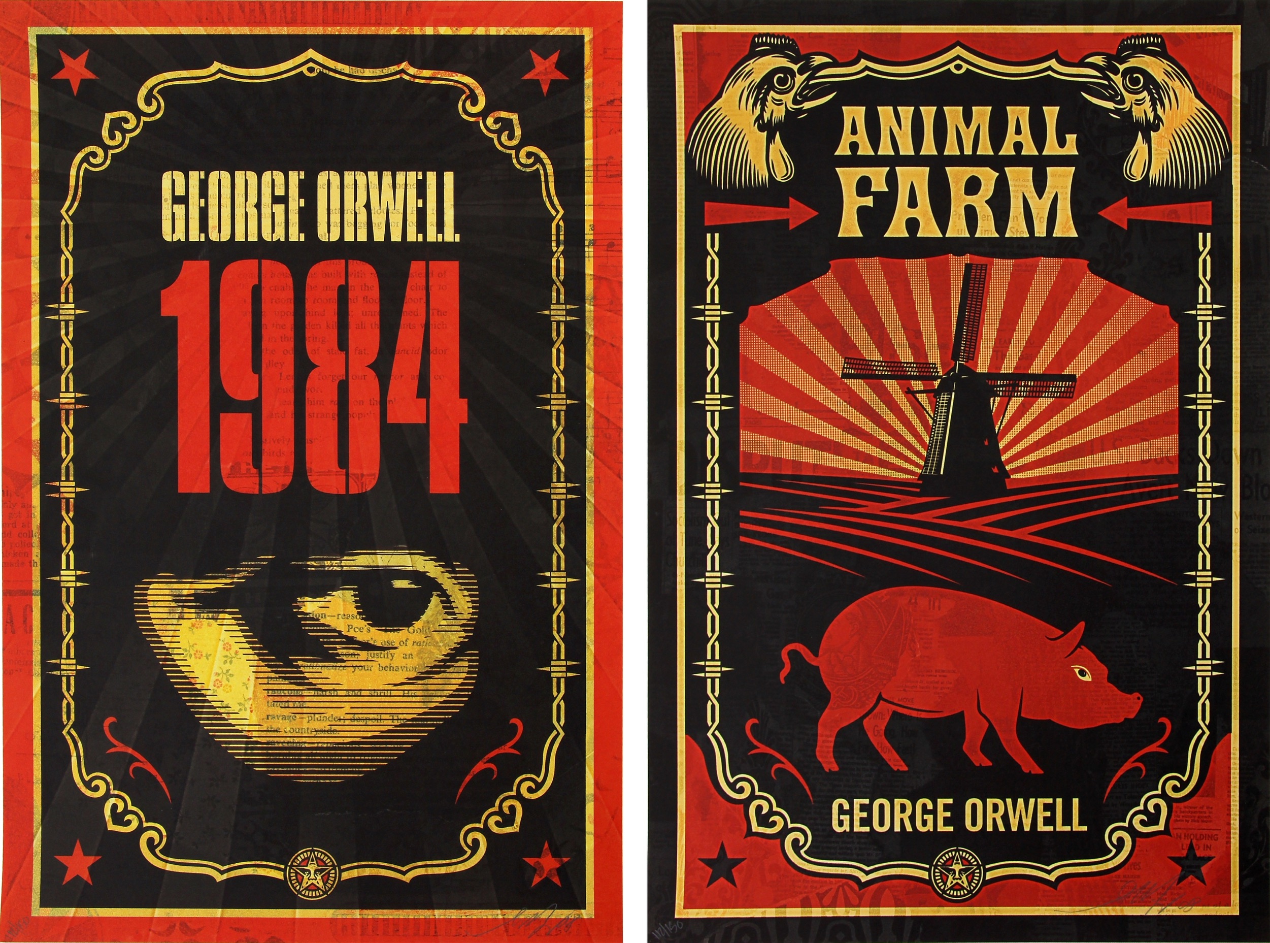 Image result for george orwell books