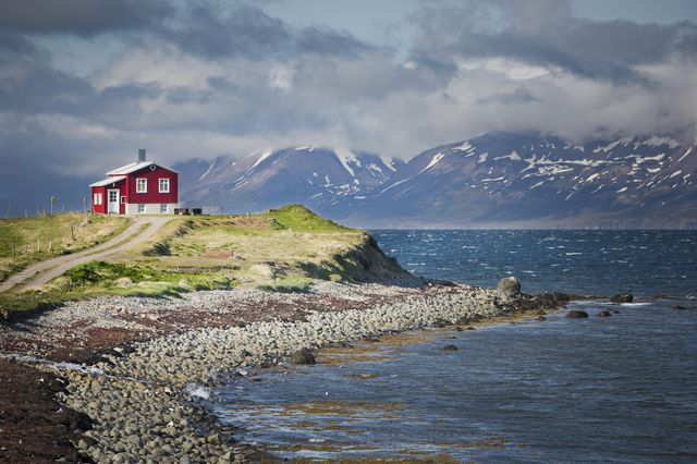 Fjords in North Iceland