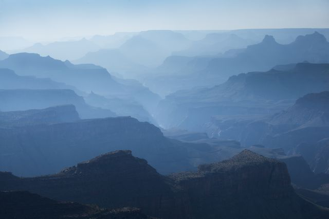 View at Navajo Point of Grand Canyon National Park Hz
